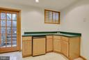 Recreation Room- Wet Bar - 4601 FLOWER VALLEY DR, ROCKVILLE
