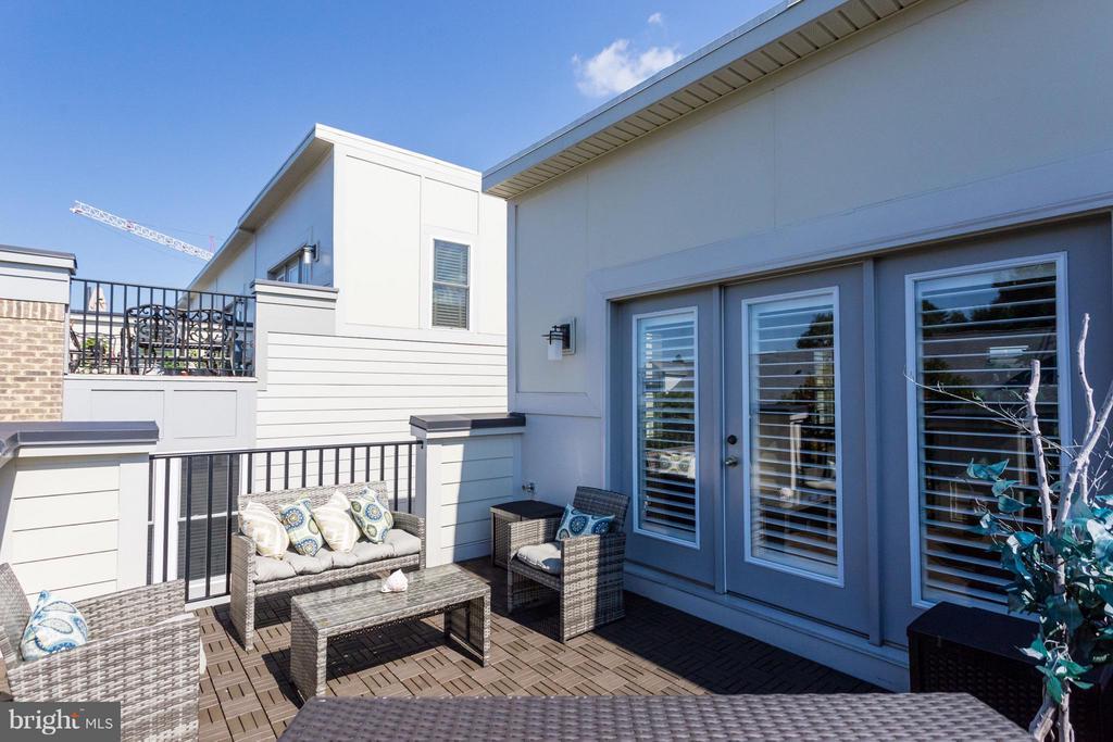 Roof Top Terrace enjoyed throughout the seasons - 1137 MONROE ST S, ARLINGTON