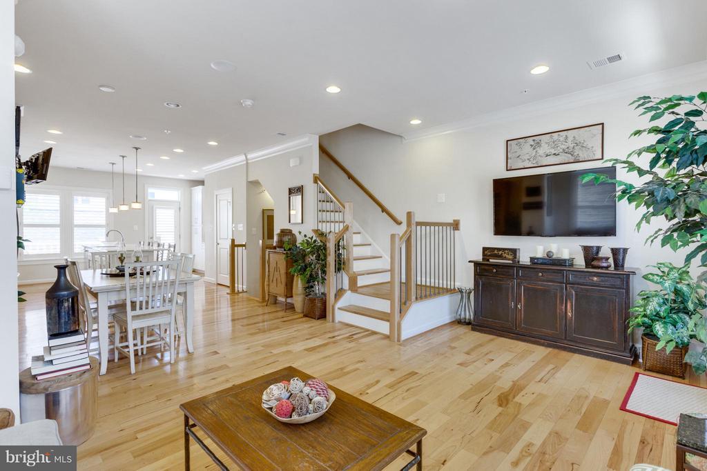Open Floor Plan with Beautiful Natural Lighting - 1137 MONROE ST S, ARLINGTON