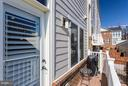 Juliet Balcony off kitchen is perfect for Grilling - 1137 MONROE ST S, ARLINGTON