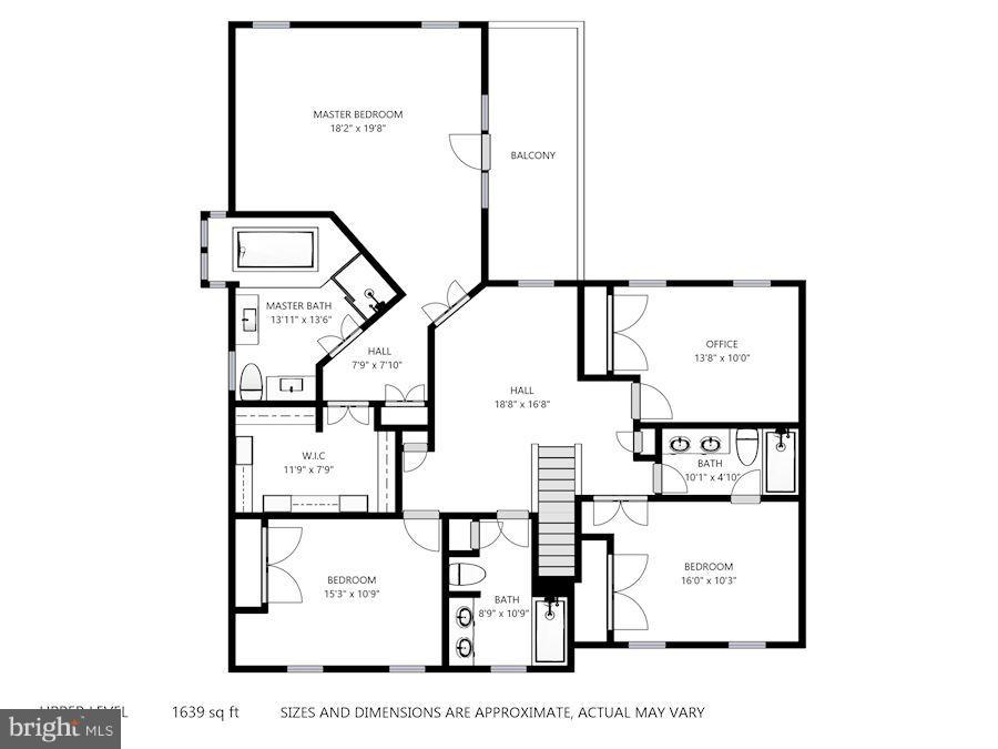 Upper Level Floorplan - 11735 FAIRFAX STATION RD, FAIRFAX STATION