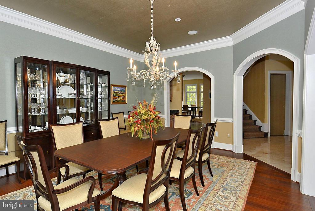 Spacious Formal Dining Room - 1105 LEIGH MILL RD, GREAT FALLS