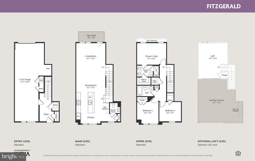 Interior (General) - 16658 CRABBS BRANCH WAY #FITZGERALD MODEL, ROCKVILLE