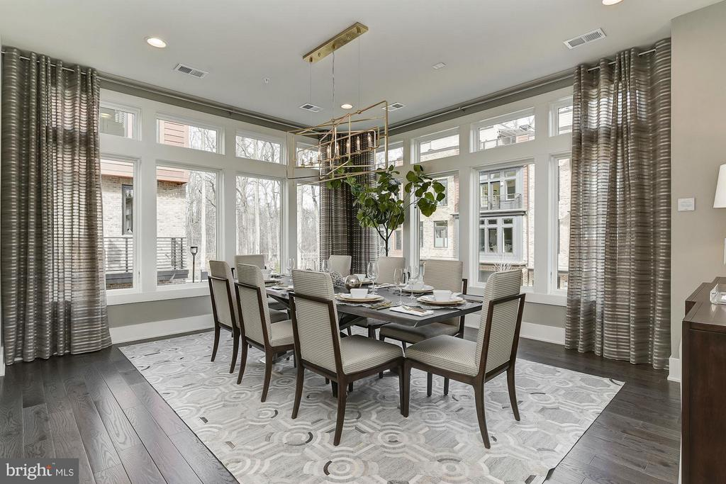 Dining Room - 10006 LAUREATE WAY #CAMERON LOT 55, BETHESDA