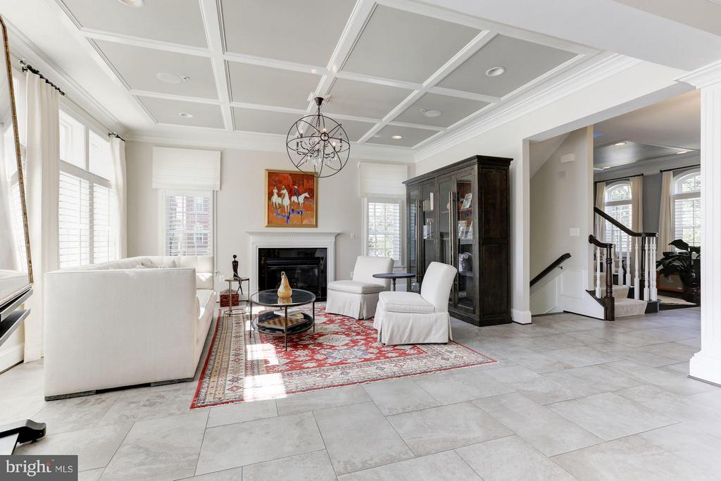 Huge family room off a gourmet kitchen - 164 CROWN FARM DR, GAITHERSBURG