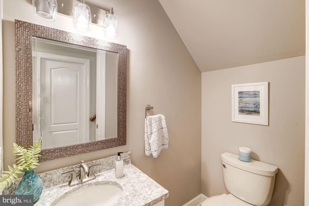One of two Bath for guests on main level - 1412 WYNHURST LN, VIENNA