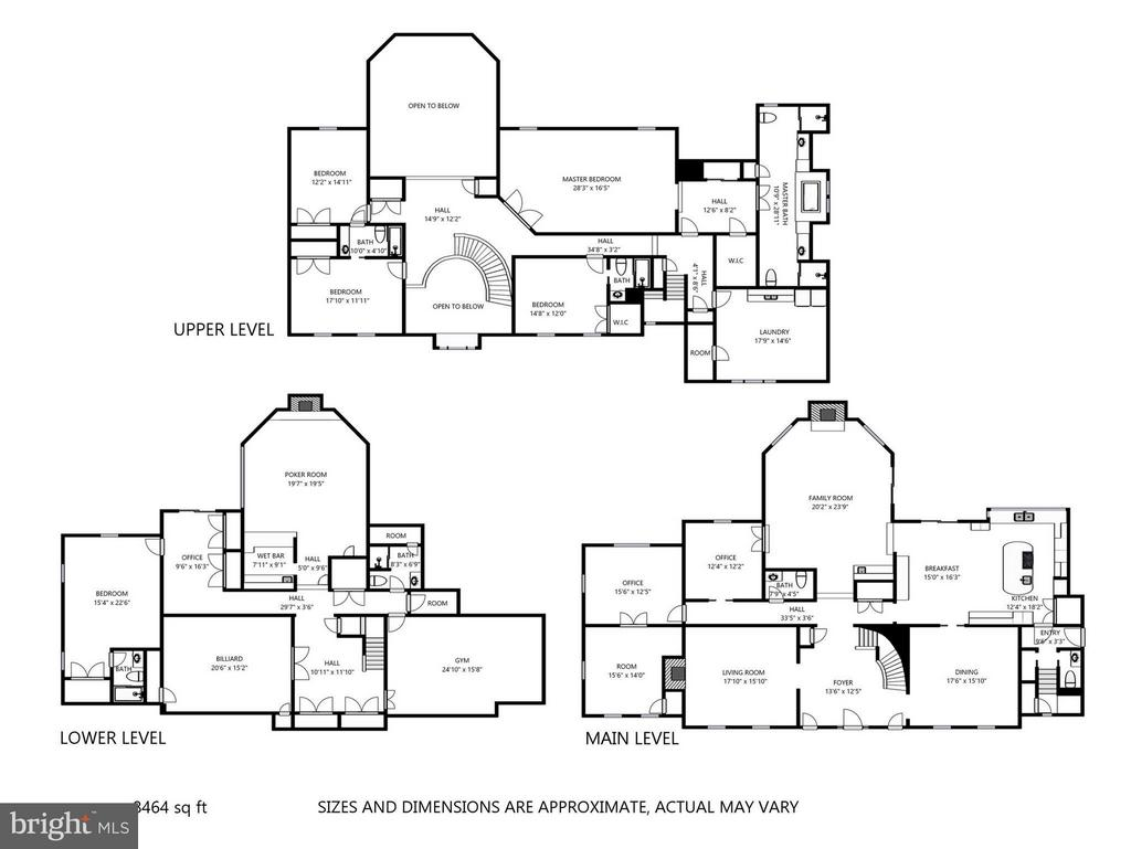 Detailed plans available - 1412 WYNHURST LN, VIENNA