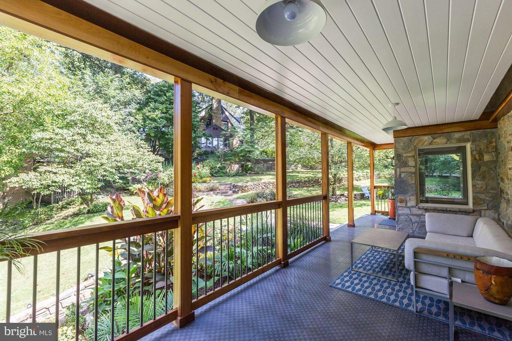 Front Porch (1 of 2) - 8506 WOODHAVEN BLVD, BETHESDA