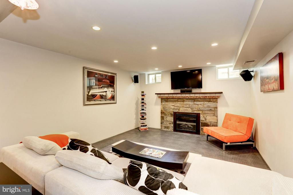 Recreation Room (1 of 2) - 8506 WOODHAVEN BLVD, BETHESDA