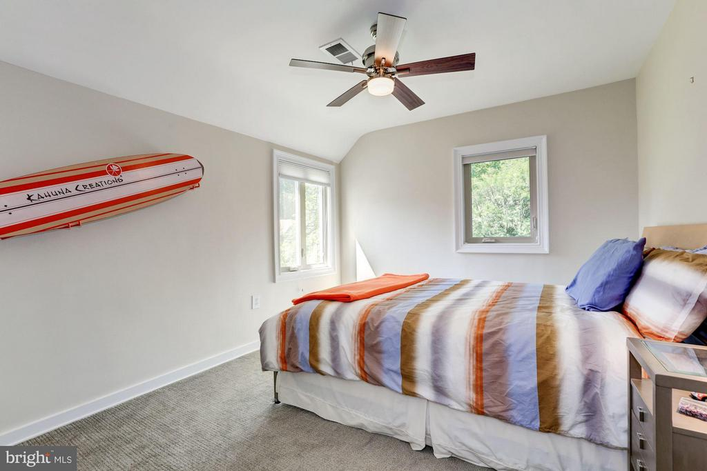 Bedroom #3 - 8506 WOODHAVEN BLVD, BETHESDA