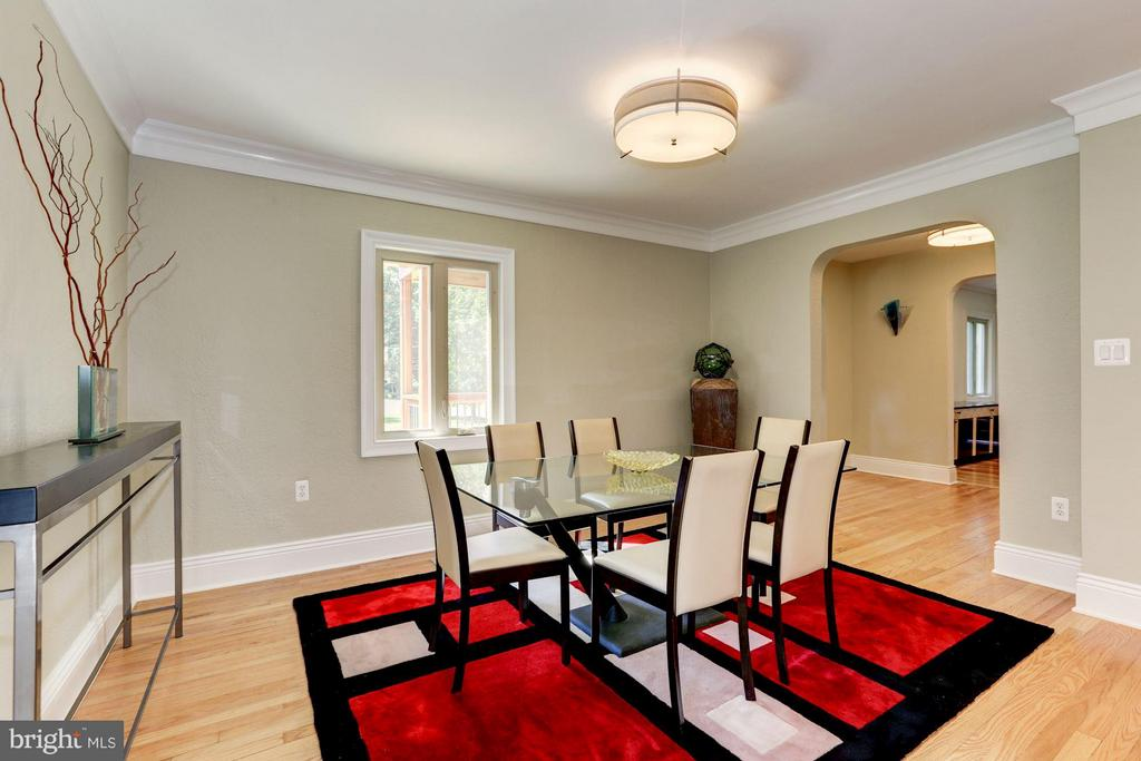 Dining Area (1 of 2) - 8506 WOODHAVEN BLVD, BETHESDA