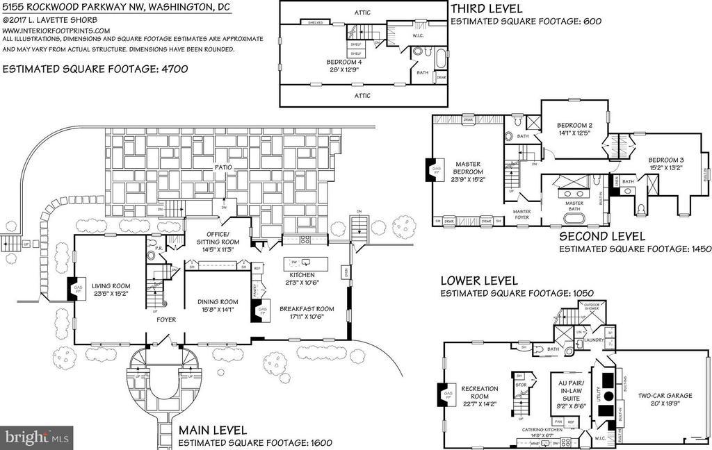 Floor Plan - 5155 ROCKWOOD PKWY NW, WASHINGTON
