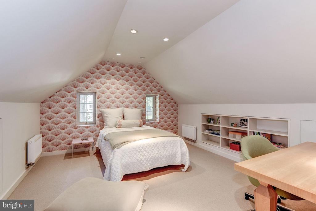 Bedroom #4 with ensuite Bath - 5155 ROCKWOOD PKWY NW, WASHINGTON
