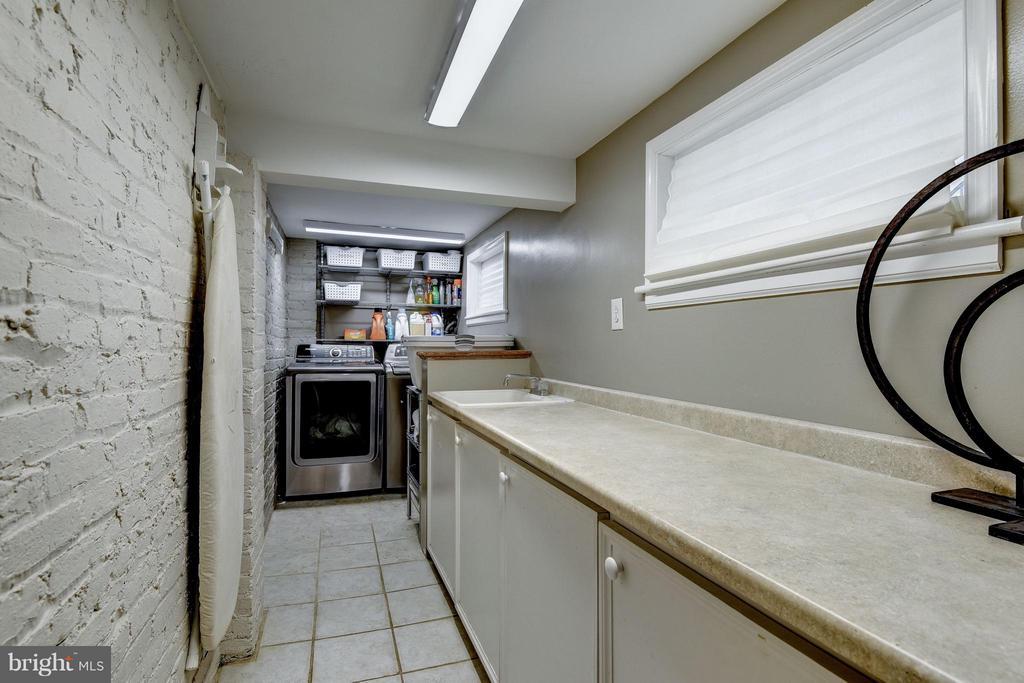 Laundry room - 6343 UTAH AVE NW, WASHINGTON