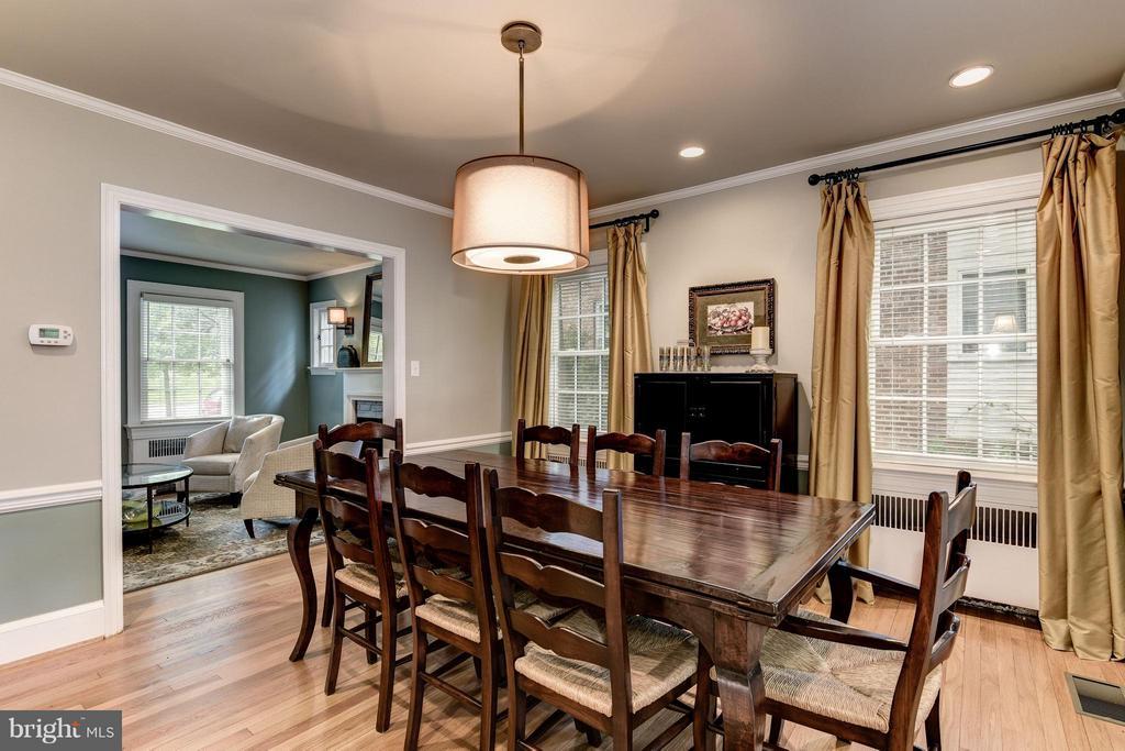 Dining Room - 6343 UTAH AVE NW, WASHINGTON