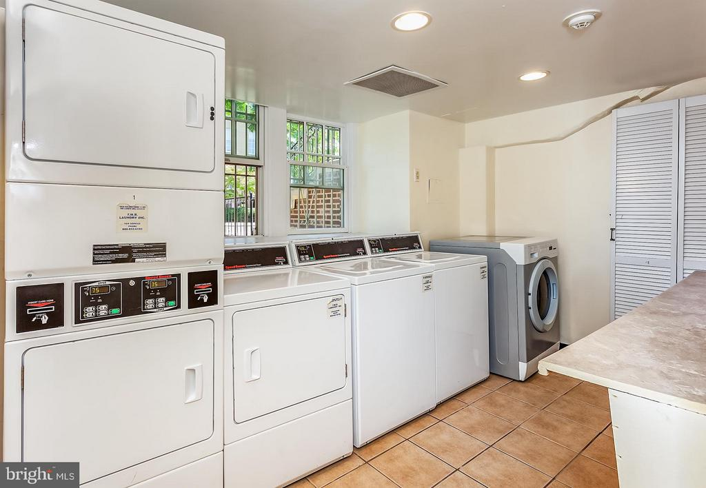 Community Laundry in building - 2410 20TH ST NW #107, WASHINGTON