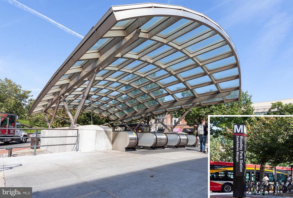 Woodly Park Metro - 2410 20TH ST NW #107, WASHINGTON