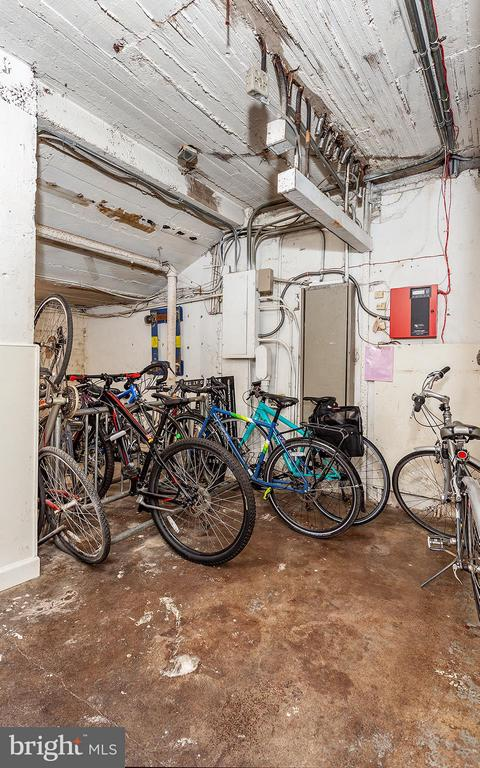 Community Bike Room in building - 2410 20TH ST NW #107, WASHINGTON