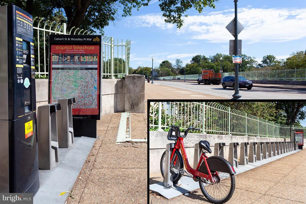 Community bike share nearby - 2410 20TH ST NW #107, WASHINGTON