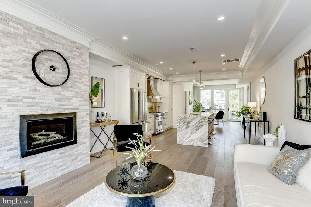 Living Room - 1242 I ST NE, WASHINGTON