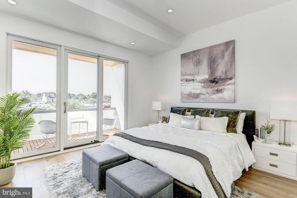 Bedroom (Master) - 1242 I ST NE, WASHINGTON