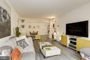 Living Room - 2711 ORDWAY ST NW #105, WASHINGTON