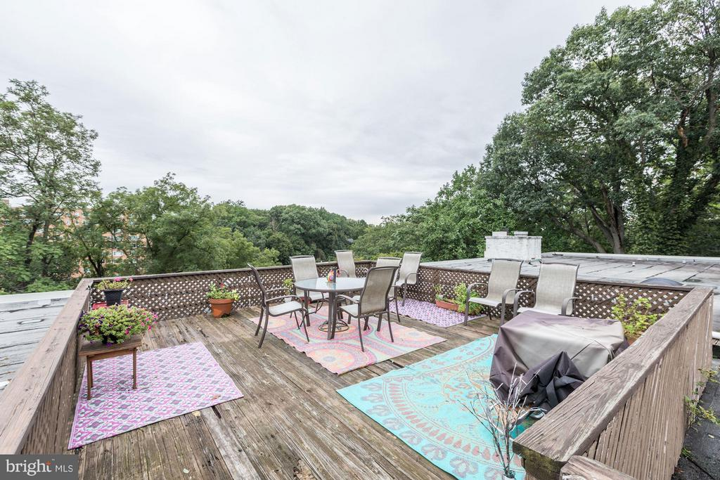 Roof Deck - 2711 ORDWAY ST NW #105, WASHINGTON