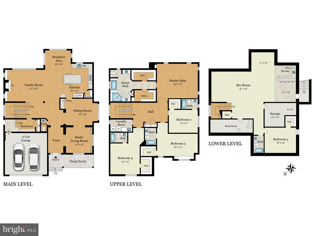 Floorplan - 2231 SANDBURG ST, DUNN LORING