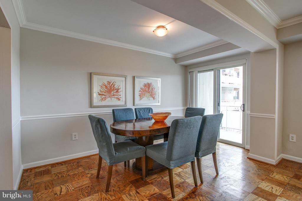 Dining Room - 4201 CATHEDRAL AVE NW #1223E, WASHINGTON