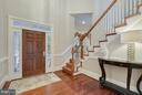 Two story foyer. - 2702 24TH ST N, ARLINGTON