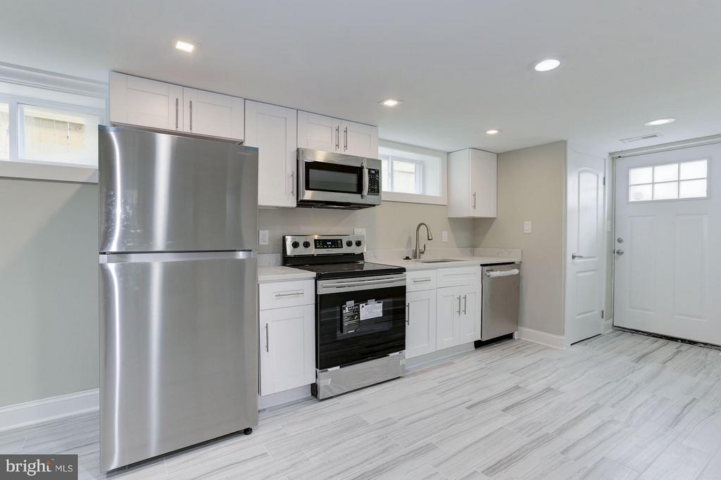 Kitchen Lower Level Apartment - 1528 S ST SE, WASHINGTON
