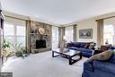 Family Room - 13606 PINE VIEW LN, ROCKVILLE