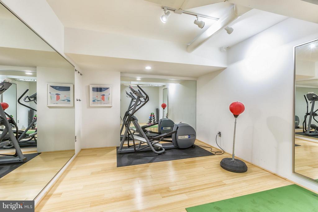 Home Gym - 2435 TRACY PL NW, WASHINGTON