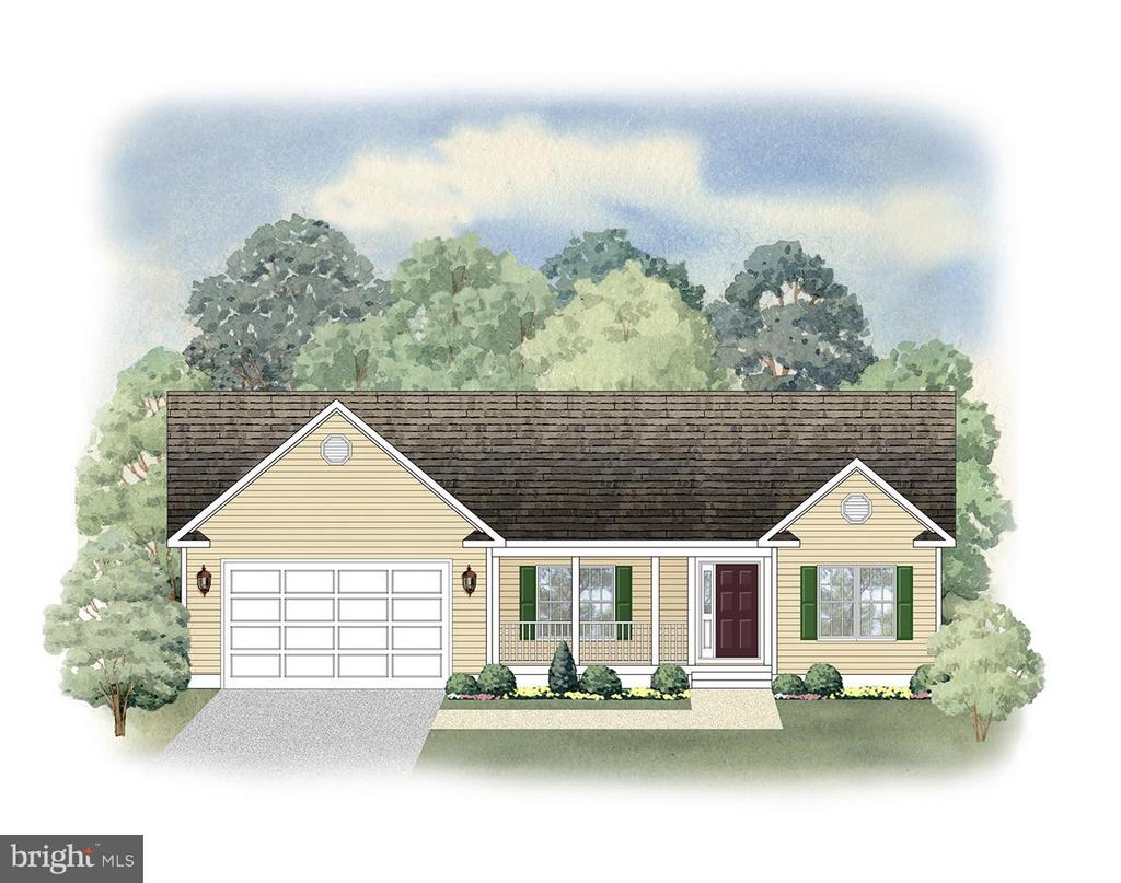 FRONT ELEVATION RENDERING - 105 HAPPY CREEK RD, LOCUST GROVE