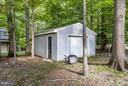 Large shed - 3419 MILLER HEIGHTS RD, OAKTON