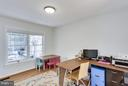 Library/study - 3419 MILLER HEIGHTS RD, OAKTON