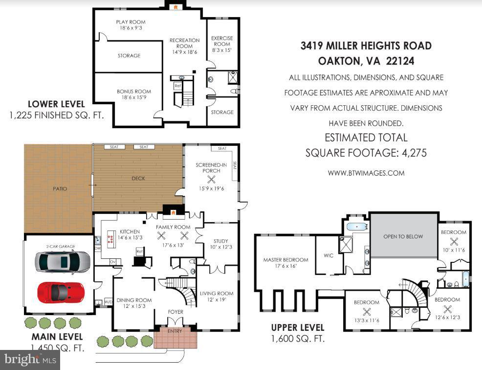 Floor plan - 3419 MILLER HEIGHTS RD, OAKTON