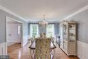 Dining Room - 3419 MILLER HEIGHTS RD, OAKTON
