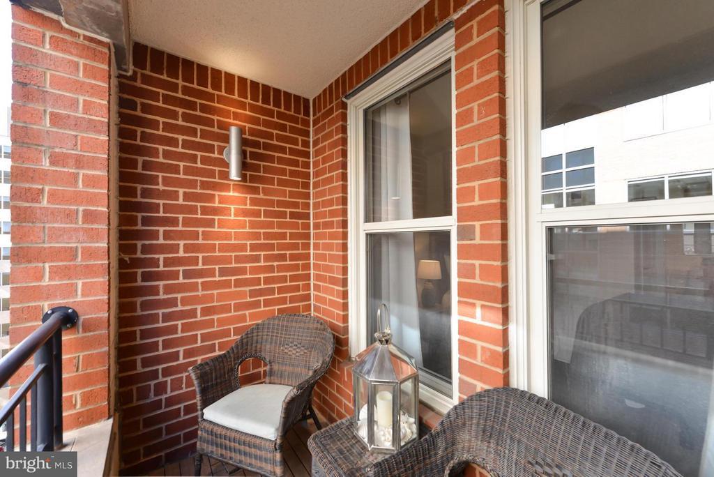 Small Balcony - 915 E ST NW #901, WASHINGTON