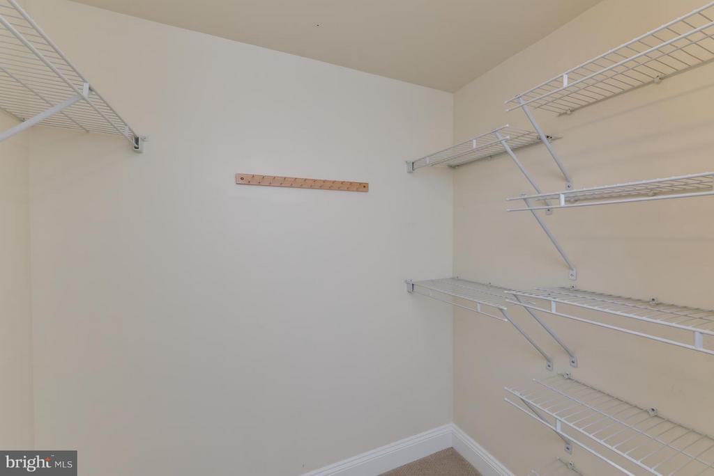Walk in closet - 915 E ST NW #901, WASHINGTON