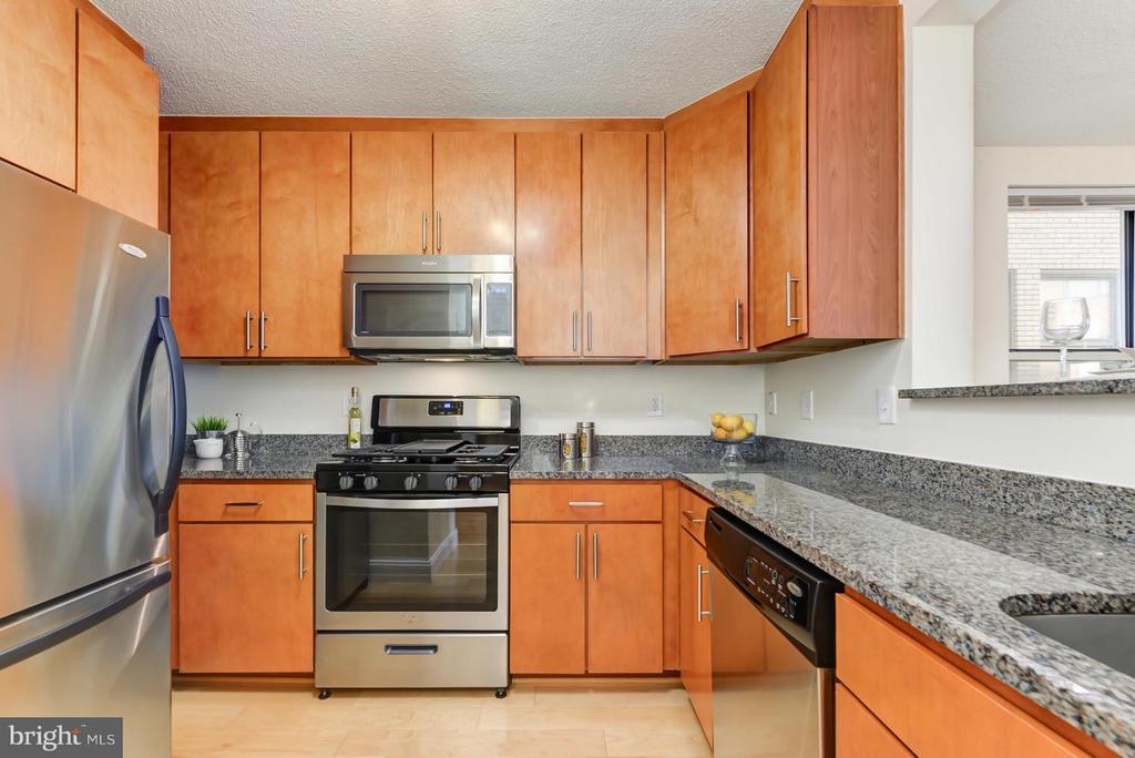 Kitchen with Stainless Steel Appliances - 915 E ST NW #901, WASHINGTON