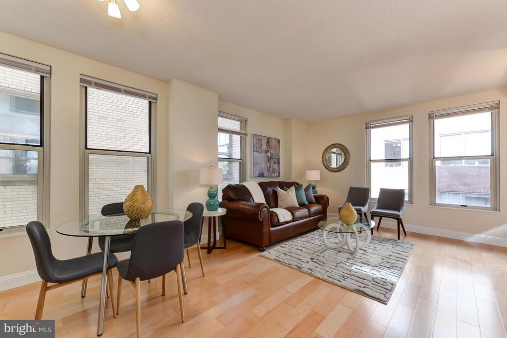 Open dinning-living Area - 915 E ST NW #901, WASHINGTON