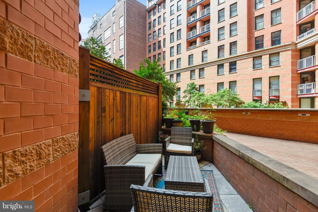 Main Level Patio - 616 E ST NW #256, WASHINGTON