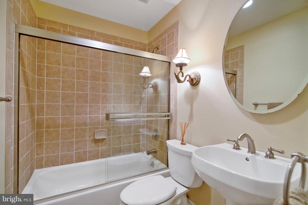 Lower Level Full Bath - 13300 FOXDEN DR, ROCKVILLE