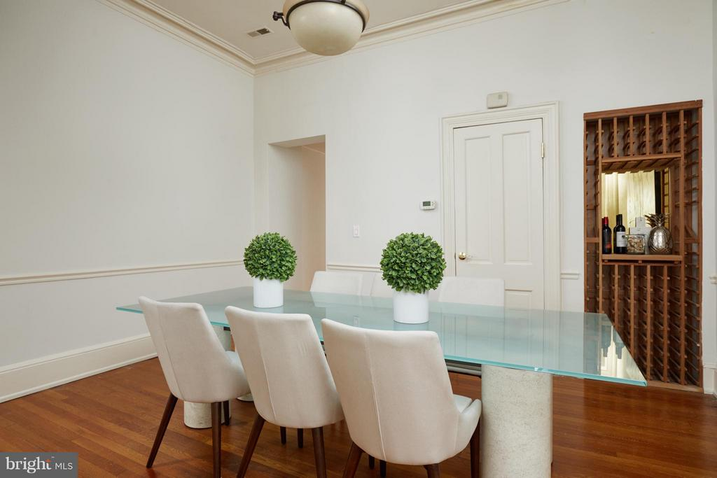 Dining Room - 2021 N ST NW, WASHINGTON