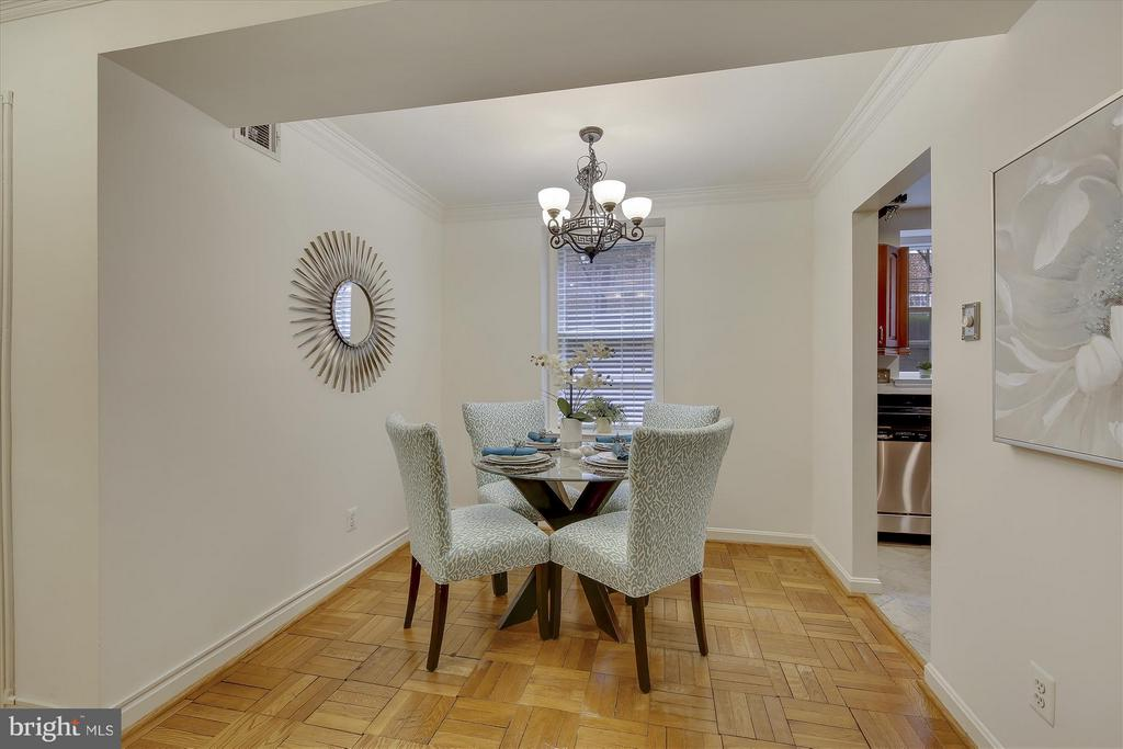 Dining Room - 3610 39TH ST NW #B542, WASHINGTON
