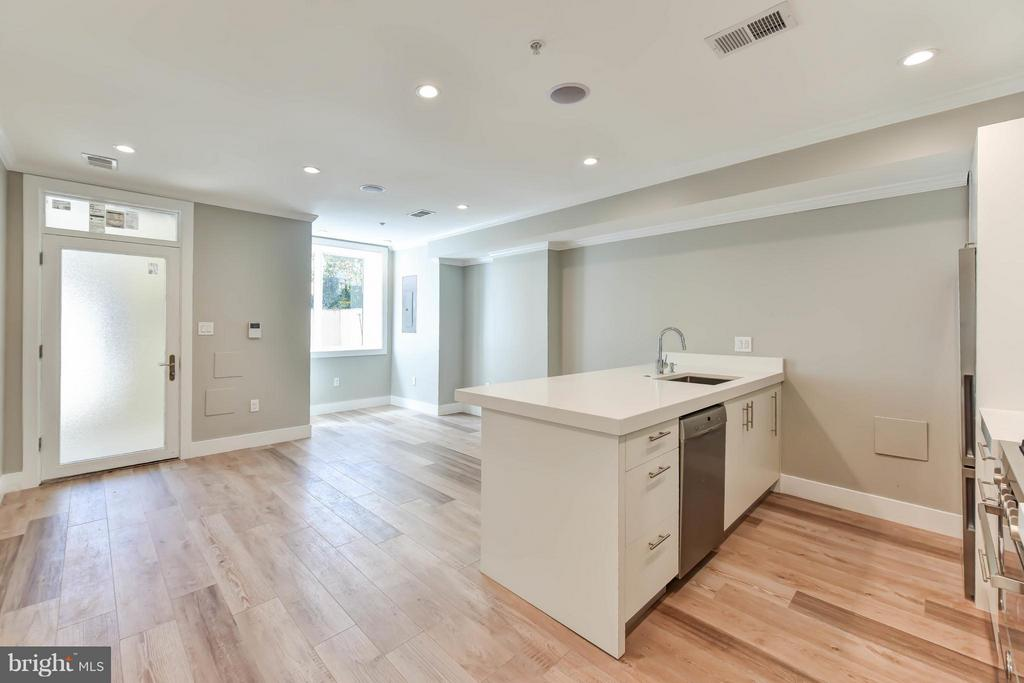 Living Room - 1461 CHAPIN ST NW #1, WASHINGTON