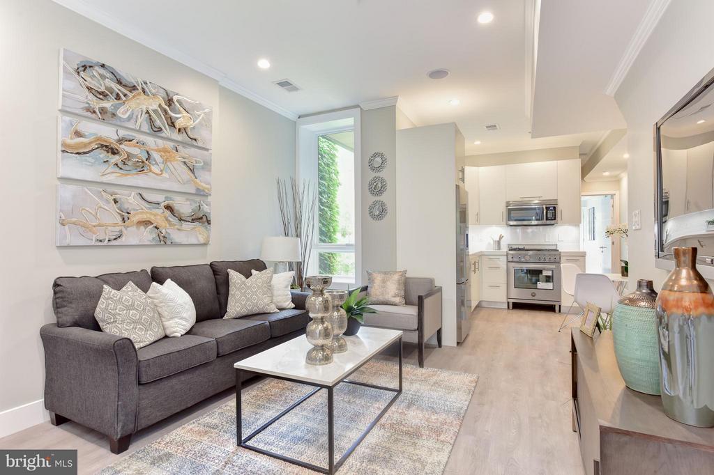 Living Room - 1461 CHAPIN ST NW #3, WASHINGTON