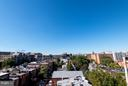 Roof deck view - 1514 17TH ST NW #115, WASHINGTON