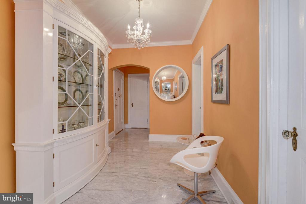 Spacious entrance foyer with hall closet - 4000 CATHEDRAL AVE NW #311B, WASHINGTON